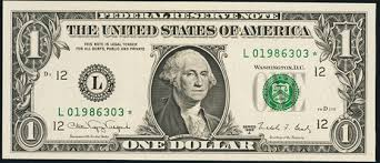 2009 1 green seal federal reserve note