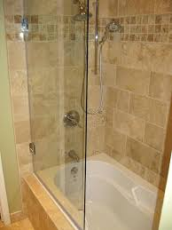 bathroom bathtub doors shower the home depot pertaining to half regarding glass door for decorating tub best bathtub glass shower doors