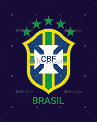 Football Emblem Design Brazil Football Federation Logo T Shirt Design Brazil National Team Shirts For Sports Lover Men Women Tshirtcare