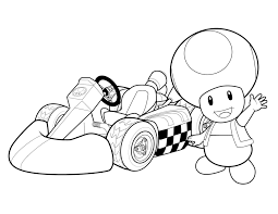 More Super Mario Coloring Printables
