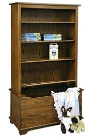 toy chest bookcase w box combination wooden bookshelf plans with combo