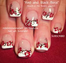 Red Nail Art | PROM NAILS robin moses red black and w… | Nails ...