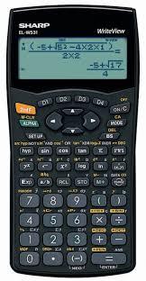 sharp calculator. sharp elw531 writeview scientific calculator o