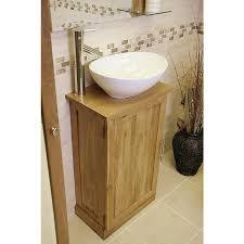 vanity unit with bowl sink. cool idea oak bathroom vanity unit atla slimline compact click units with bowl sink