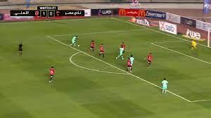 اهداف مباراة الاهلي ونادي مصر (3-0) الدوري المصري - بطولات