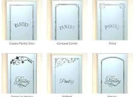 custom pantry doors etched glass pantry door custom doors kitchen