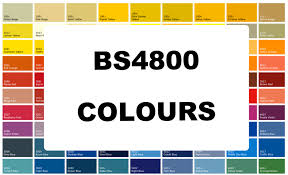 Bs To Ral Conversion Chart In The Press Specialist Uk Paint Manufacturer Marine