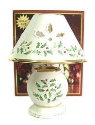 lenox holiday china. Exellent China Lenox Holiday Candle Lamp Holiday Dimension By Lenox China With
