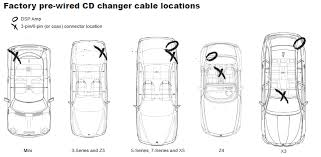 installation and connection of the audiovox silverline duo factory pre wired cd changer cable locations click here installation
