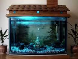 fish tank decoration - house fish tank