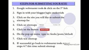 easiest way to submit a sitemap for ger spot xml build how to webmaster tools upload