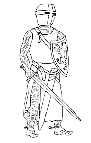 56 Coloring Pages Of Knights On
