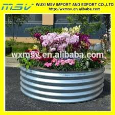 galvanized raised garden bed stylish corrugated galvanized raised beds for gardening corrugated raised garden beds uk