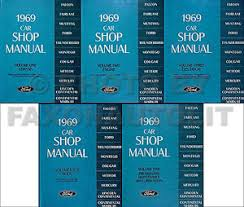 1969 lincoln mark iii 1969 shop manual lincoln mark iii continental ford galaxie thunderbird 69