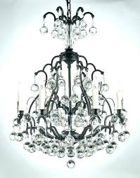 iron and crystal chandelier modern large crystal chandelier light wrought iron wrought iron crystal chandeliers