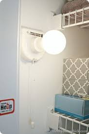 Battery Light in closet: I have one of these lights in our powder room  closet