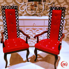 Red Bedroom Chairs Outstanding High Back Bedroom Chairs In Red Also Woode Arms As