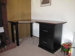 best diy computer desk with file cabinet home furniture