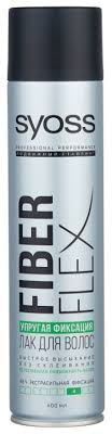 <b>Syoss Лак для волос Fiberflex</b> Упругая фиксация, экстрасильная ...