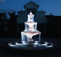 Indoor Fountains With Lights Outdoor Lighted Fountains Kenroy Home Costa Brava Lighted