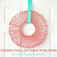 This Candy Cane Wreath Is So Cute This Is A Great Conversation Candy Cane Wreath Christmas Craft