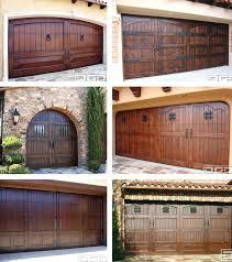 diy wood garage doors always loved the look of rustic wood doors stained dark with wrought