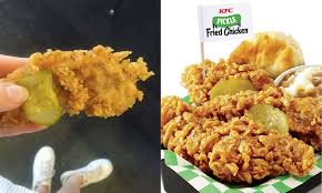kfc fried chicken. Beautiful Fried What Does KFCu0027s Pickle Fried Chicken Taste Like Hereu0027s How The Sauce  Stacks Up To Real Thing In Kfc S