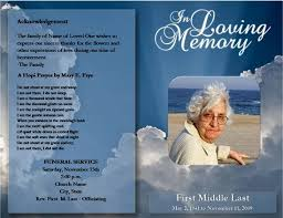 Free Download Funeral Program Template Stunning Free Funeral Program Template Microsoft Word Passed Free
