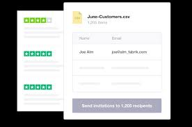 Review Invitations Product Features Trustpilot Business