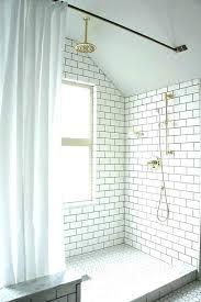 gray penny tile penny tile shower floor penny tile floors gray round floor glass bathroom shower