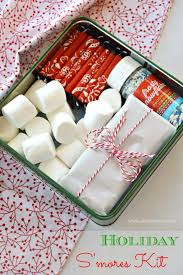 homemade gift idea holiday s mores kit