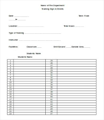 Training Design Document Template 2 Sheet Samples Sign Off Templates ...