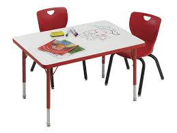 school rectangle table. Classroom Select Markerboard Activity Table, Rectangle, 36 X 72 Inches, T-Mold School Rectangle Table N