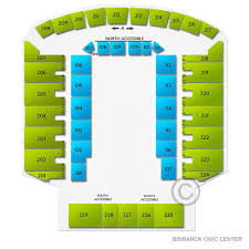 Bismarck Event Center Seating Chart Xtreme Bulls Thu Feb 6 2020 Bismarck Civic Center