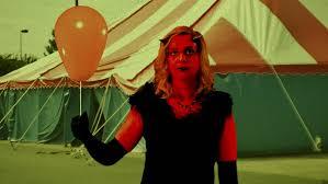carnival of sin concept old timey creepy carnival original devil prostheticakeup stock fooe video 8287090 shutterstock