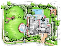 Garden Landscape Design Drawings Stylish Backyard Landscape Plan Home Landscaping Design Idea
