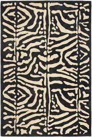 alden hand tufted wool safari night area rug rug size rectangle 4 x 6