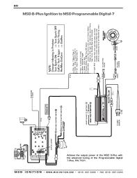 msd ignition wiring diagrams crank trigger distributor · msd 8 plus series to msd programmable digital 7