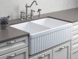 farmhouse double kitchen sink double basin farmhouse sink