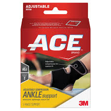 Ace Adustable Compression Ankle Support Support Level 2 1 Ct