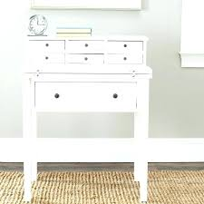 marvellous small white writing desk picture with hutch and drawers storage fold down antique