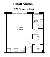Small Studio Apartment Floor Plans | Floor plans from Small Studio to Large  One Bedroom below. | Garage Studio Ideas | Pinterest | Studio apartment  floor ...