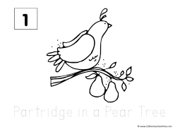 But this time, in the form of christmasy bookmarks! Free 12 Days Of Christmas Coloring Pages