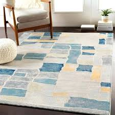 teal amp gray modern block area rug and white extraordinary ideas turquoise and gray rug