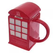 Con coperchio in ceramica cabina telefonica inglese