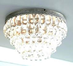 large barn light flush mount chandelier crystal drop extra pottery ceiling track lighting star with lights