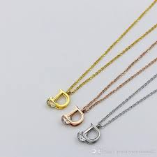 whole big crystal jewelry pendant fine fashion with letter new design necklace pendants stainless steel jewelry for women top quality heart pendant