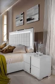 Modrest San Marino Modern White Bedroom Set - San Marino White ...