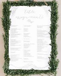 Seating Chart Wedding 25 Unique Wedding Seating Charts To Guide Guests To Their