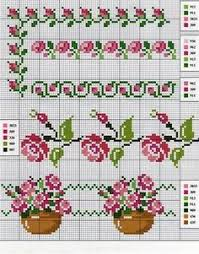 2036 Best Cross Stitch Patterns Flowers Images In 2019